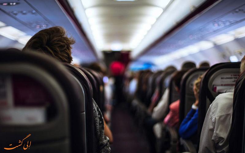 بهترین صندلی های هواپیما