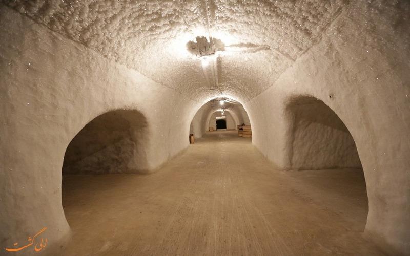 تصاویر تونل های یخی سیبری