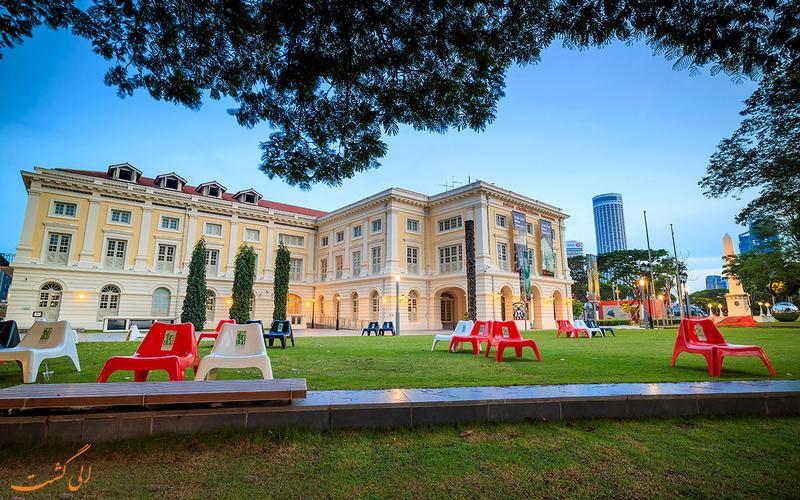ساختمان امپراطوری - موزه تمدن های آسیایی سنگاپور