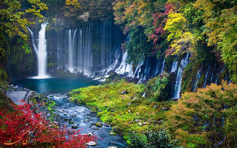 آبشارهای ژاپن