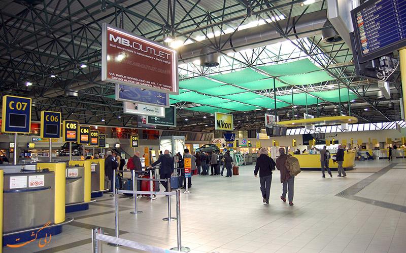 راه های دسترسی به فرودگاه بین المللی تورین