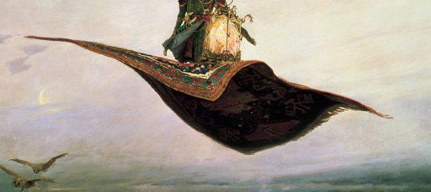 آیا واقعا قالیچه ی پرنده در ایران وجود داشته است؟