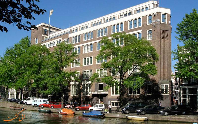 فاصله ی هتل ان اچ آمستردام سنتر تا جاذبه های آمستردام