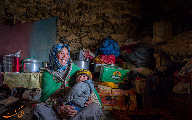 عشایر هیمالیا هند در لاداخ