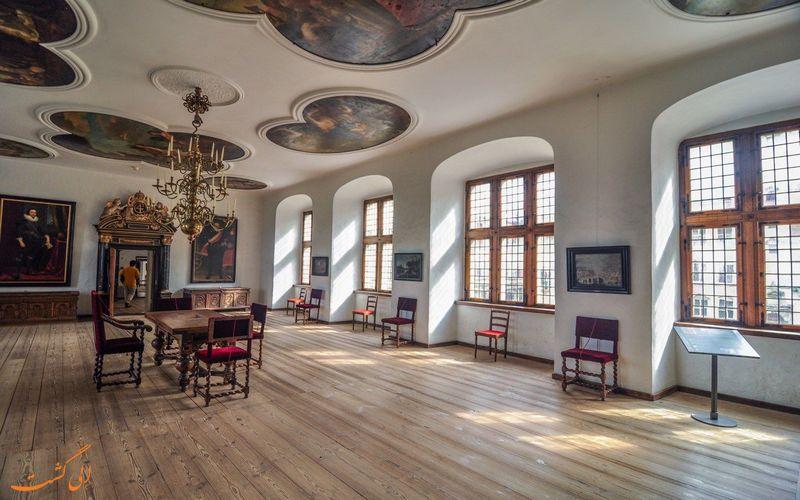 داخل قلعه کرونبرگ