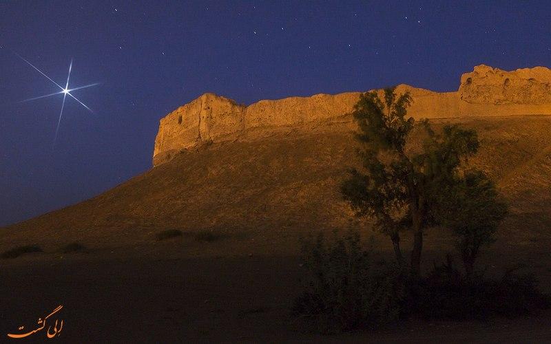 بمپور قلعه ای باستانی در سیستان