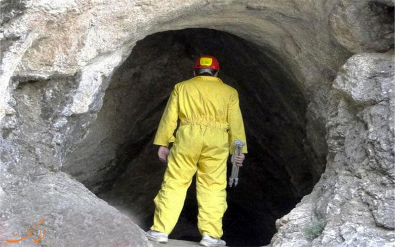 دهانه غار کونا شم شم