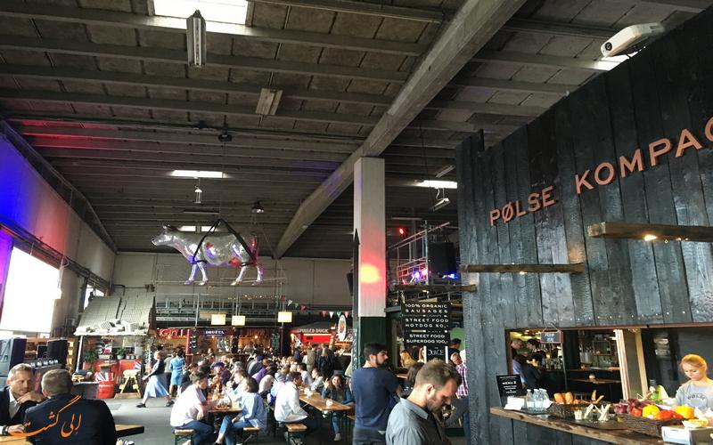 تجربه بهترین غذاها در پاپیرون کپنهاگ