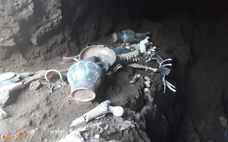کشف مقبره تاریخی در رم