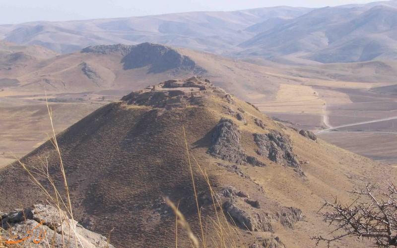 قلعه زیویه از نمایی دور