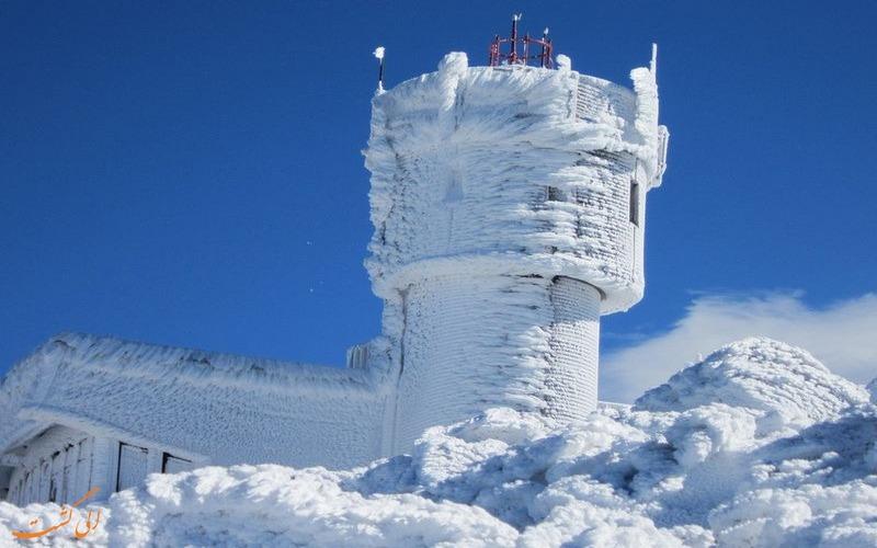 تصاویر شهر یخ زده