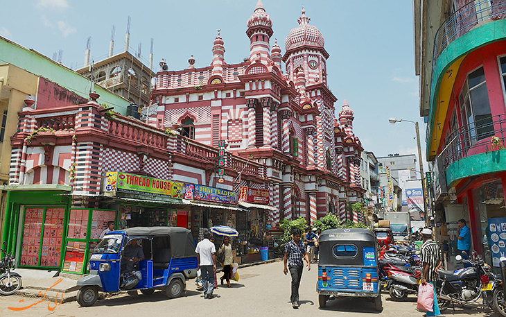 هزینه حمل و نقل در کلمبو