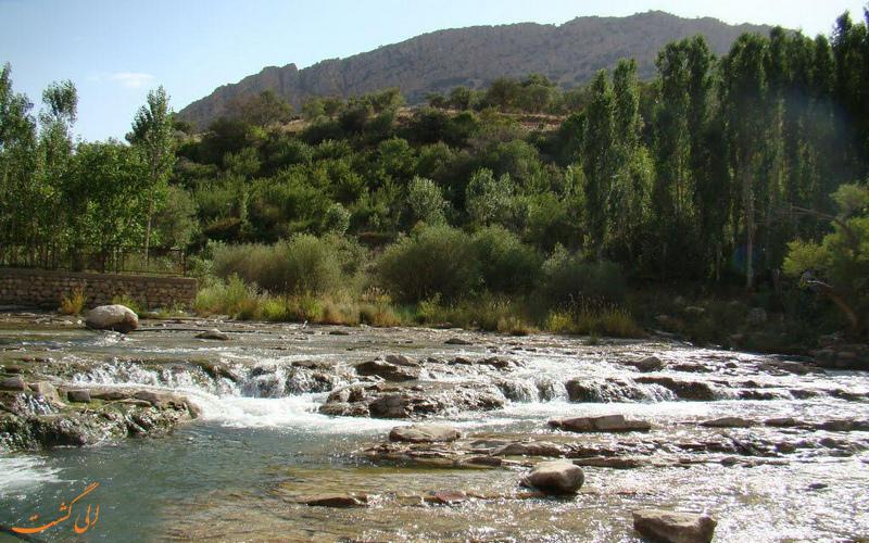 رودخانه روستای مال آقا