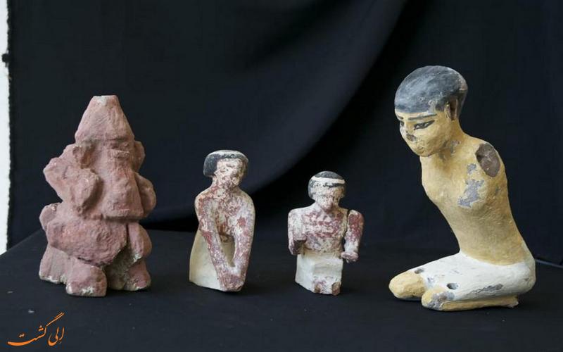آثار کشف شده از سارقان در اروپا