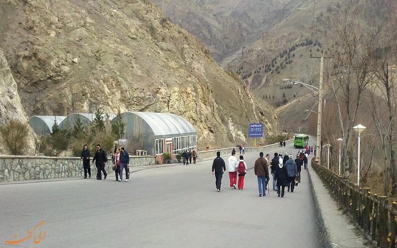 مسیر سلامتی بام تهران