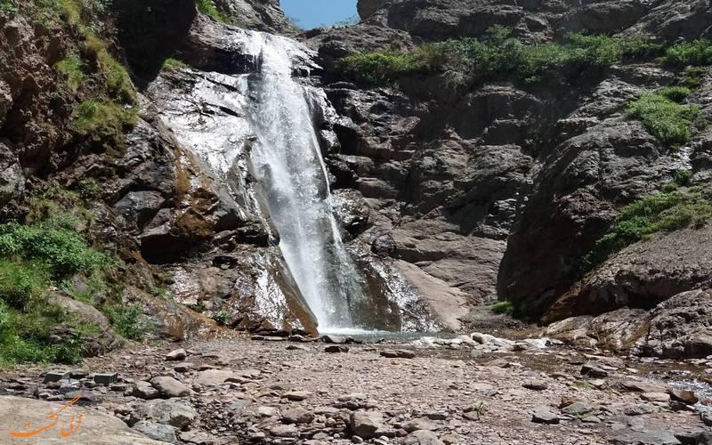آبشار زیبای کند علیا