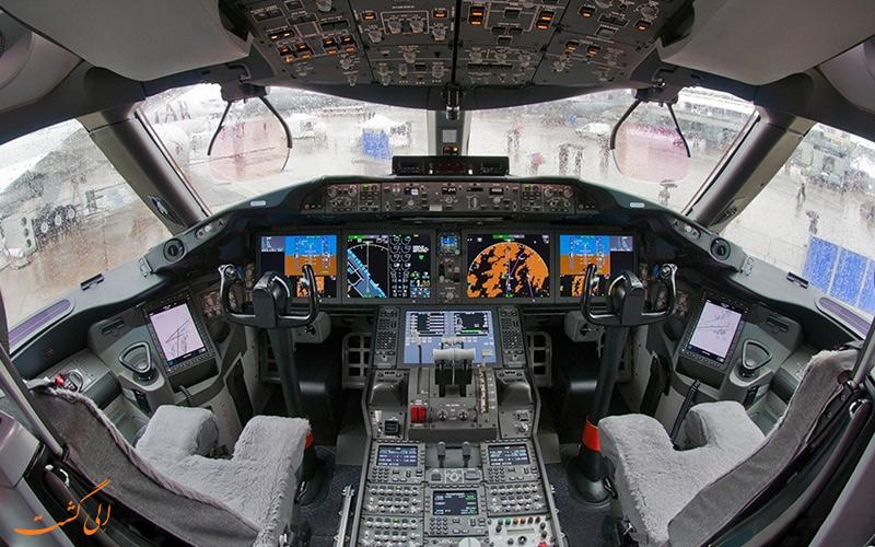 با کابین خلبان هواپیما آشنا شوید