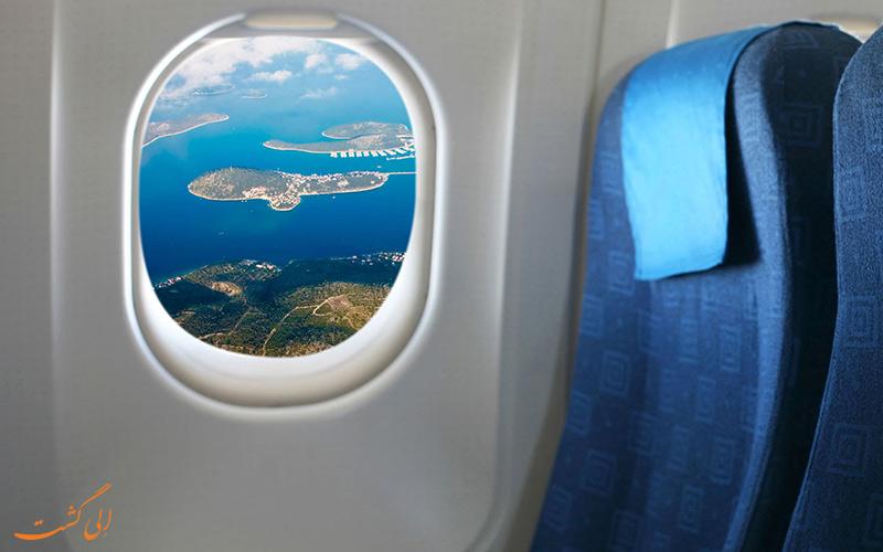 آشنایی با پنجره های هواپیما