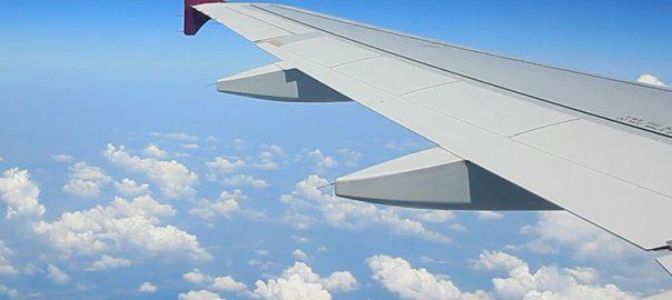 خمیدگی بال های هواپیما در پرواز به چه علتی است؟