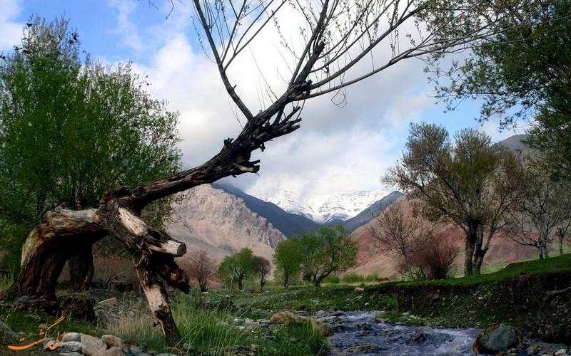 طبیعت زیبای باغرود نیشابور