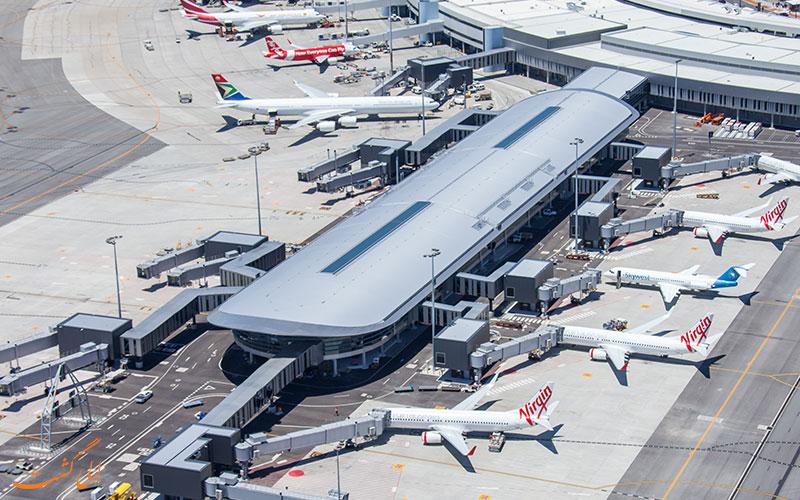 آشنایی با قسمت های مختلف فرودگاه