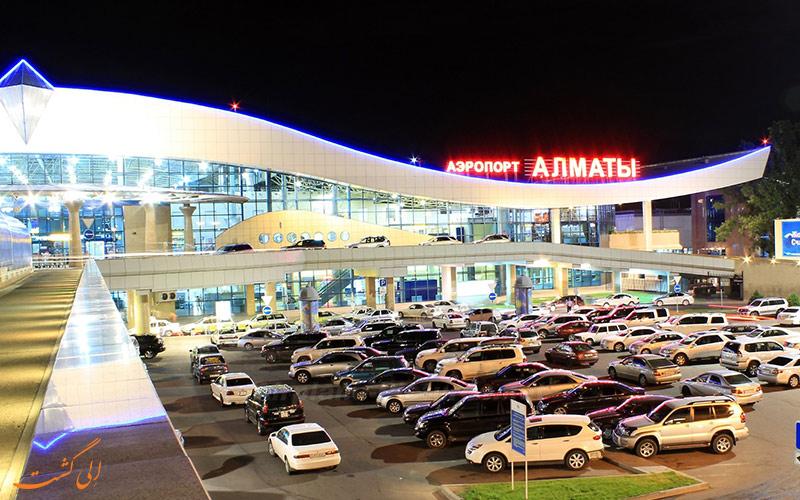 تاریخچه ی فرودگاه بین المللی آلمالتی