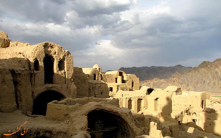 روستای تاریخی سریزد در استان یزد