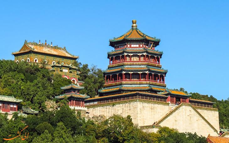 جاذبه های کاخ تابستانی در چین
