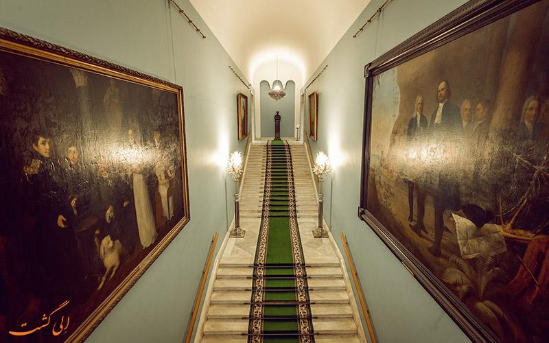 نمای داخلی گالری تریتیاکوف