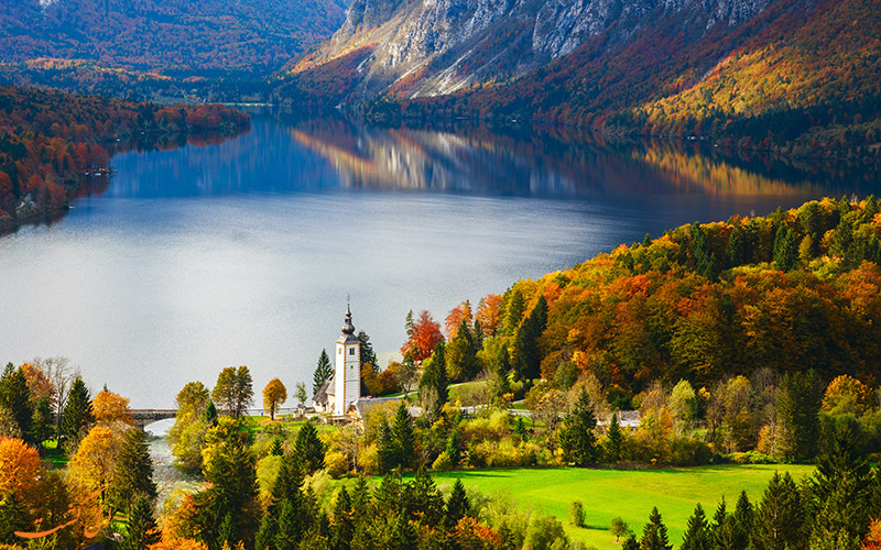 زیباترین دریاچه های اسلوونی