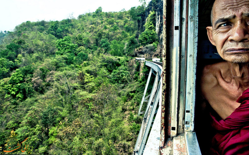 ترسناک ترین پل قطار دنیا