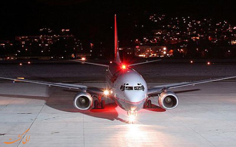 چراغ های هواپیما