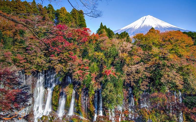 آبشارهای زیبای ژاپن