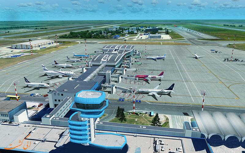 مهمترین فرودگاه رومانی