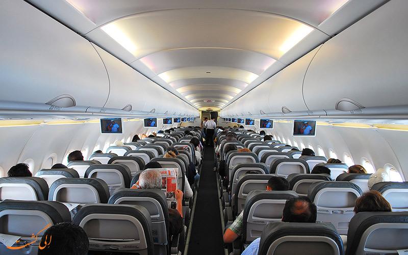آشنایی با هواپیمای ایرباس A319