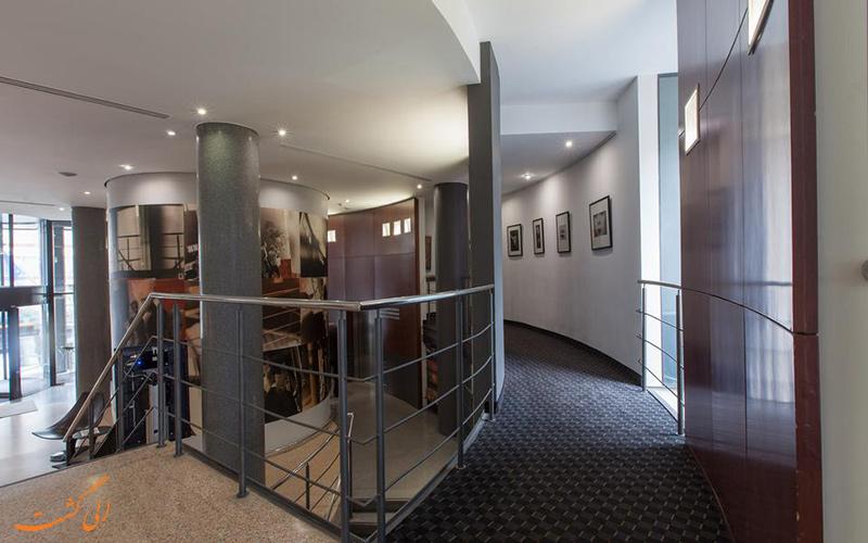 موقعیت هتل ان اچ بروکسل ای یو برلیمونت