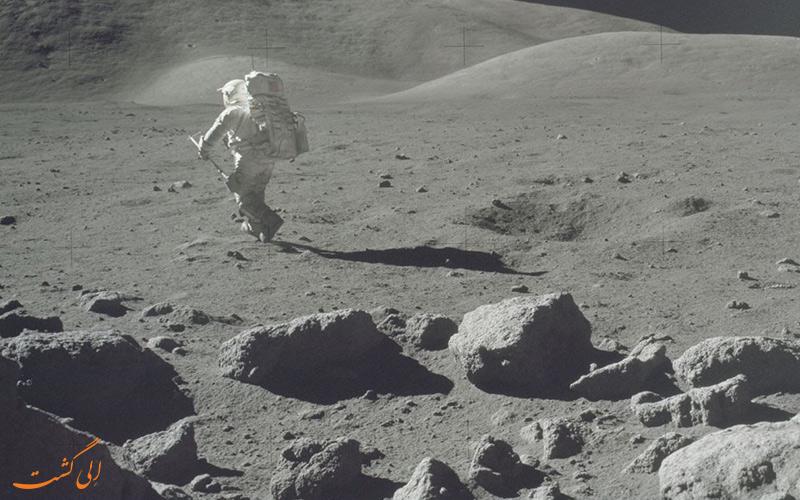 انسان دیگر به ماه سفر نمی کند؟