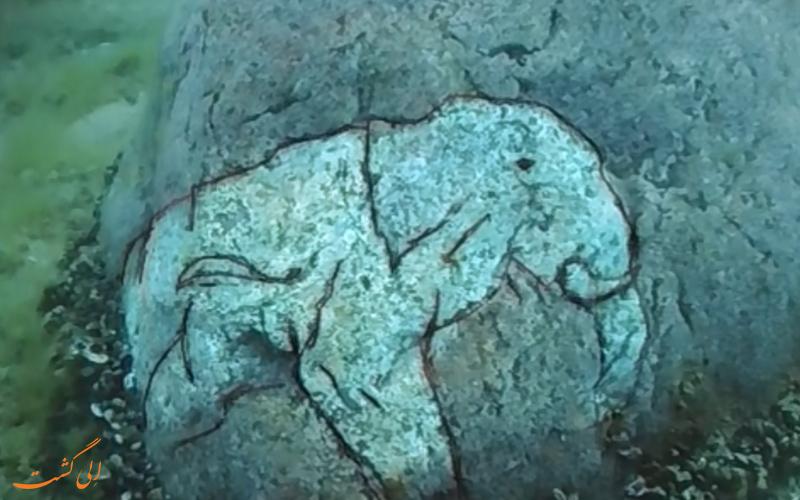 سنگ های باستانی دریاچه میشیگان
