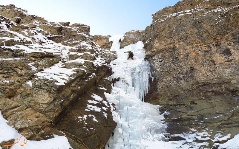 آبشار نوردی در آبشار خور