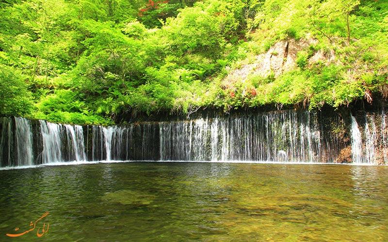 آبشار شیرایتو در ژاپن