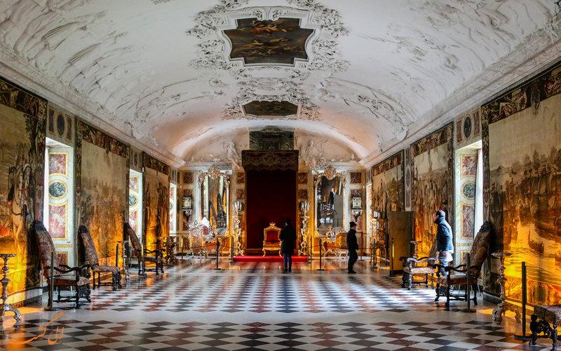 سالن های قلعه روزنبرگ