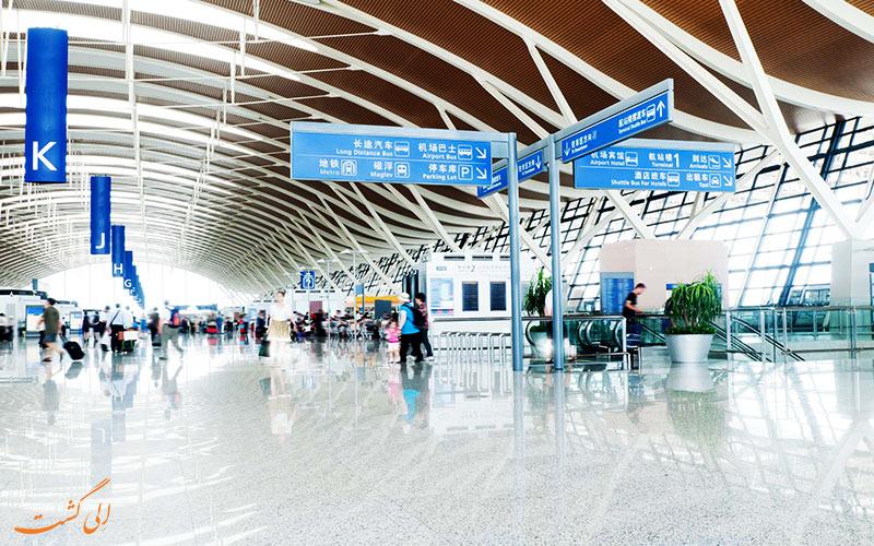 فرودگاه های شانگهای