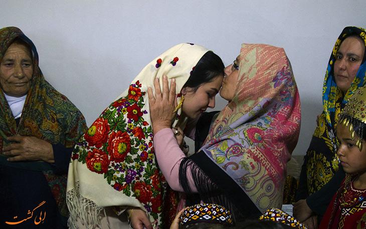 مراسم ازدواج ترکمن ها