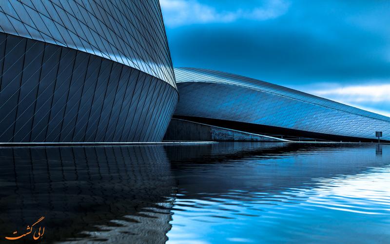 معماری آکواریوم کره آبی دانمارک
