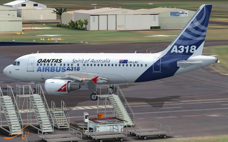هواپیمای ایرباس A318