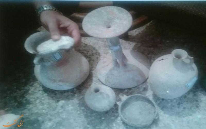 اشیایی با قدمت سه هزار ساله
