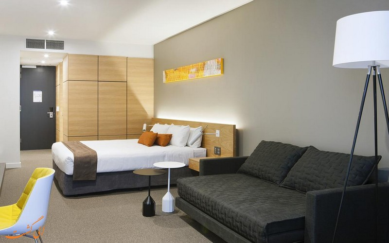 اتاق های هتل جاسپر