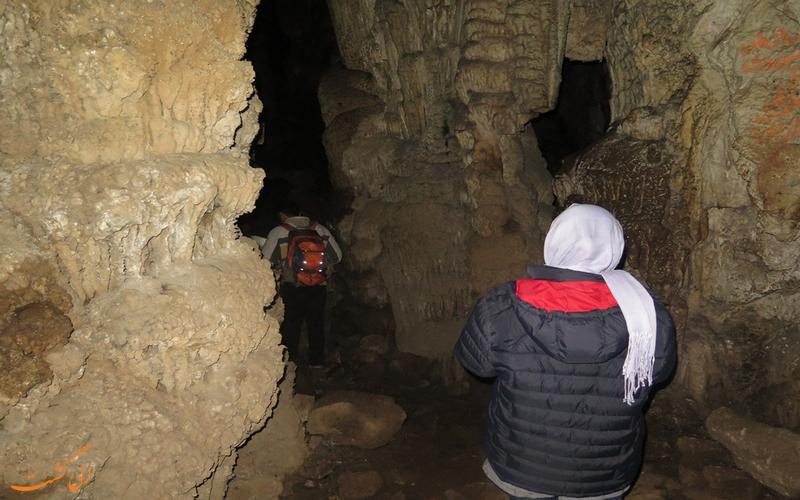 مسیرهای غار رودافشان