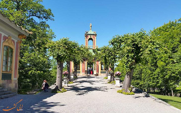 باغ های قصر دروتنینگهلم