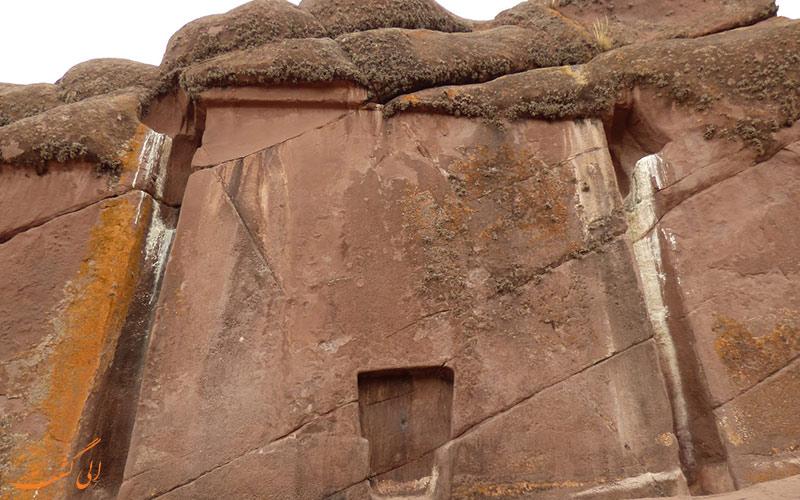 دروازه ی خدایان در هایومارکا و در کشور پرو